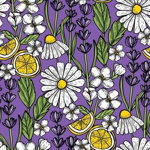 Aromatic Garden (Purple)