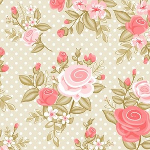 Retro Flowers_Geraldine - Husk
