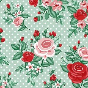 Retro Flowers_Christmas