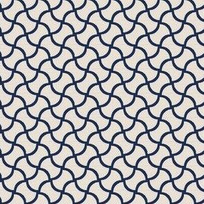 Modern geometric bone pattern 02