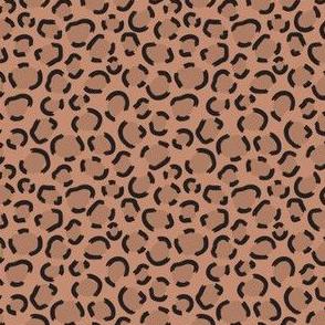 Jungle Modern Leopard print sienna (extra small)