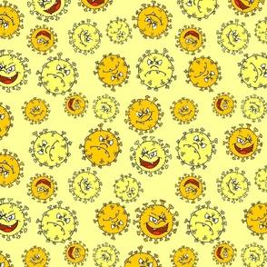 Creepy Cute Virus Yellow