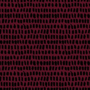 Small popular trend brush strokes minimalist style scandinavian abstract neutral nursery design maroon burgundy winter