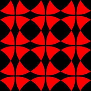 Wheel of Mystery Intense Red Black