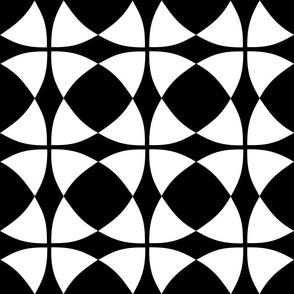 Wheel of Mystery White Black
