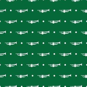 Trumpet Dots - Green