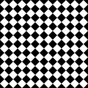 Black & White Classic Checkered