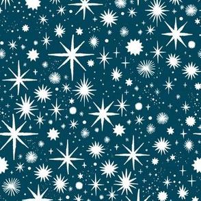 shimmering stars - ocean