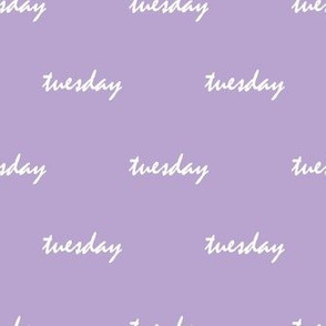 lavender tuesday - small scale