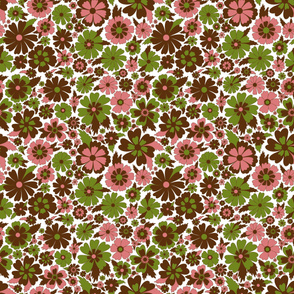 Pink and Green Blossom