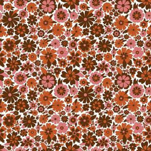 Pink and Orange Blossom