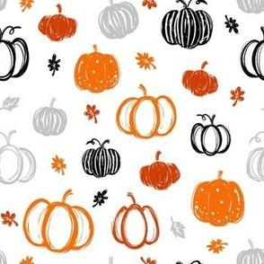Scribble Pumpkins 3