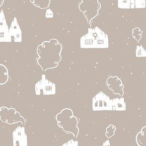 Cozy Homes   Snowfall