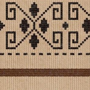 Pop Culture Cardigan Pattern - Regular Scale