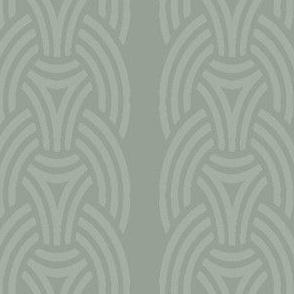 Borre  wallpaper light green Vertical
