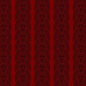 Borre 05 B wallpaper red _ black vertical