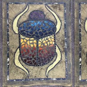 Scarab Beetle Mosaic - Large