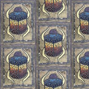 Scarab Mosaic - Medium