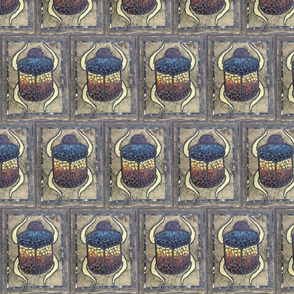 Scarab Mosaic - Small