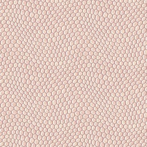 ★ REPTILE SKIN V1 ★ Ecru, Blush Pink, Pale Mauve - Small Scale / Collection : Snake Scales – Punk Rock Animal Prints 4