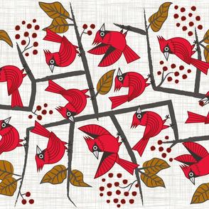 Twelve Winter Birds