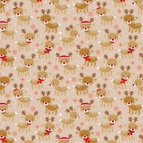 gingerbread reindeer -small