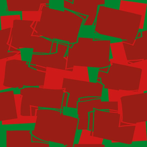Mid-Mod Elements in Reds and Green