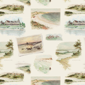 Fishers Island Landmarks I - from 'An Island of Homes' (Large)