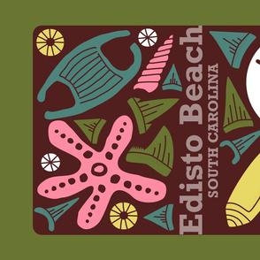Edisto Beach! Tea Towel