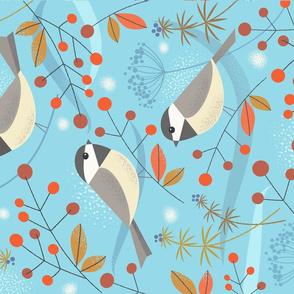 wintertime birds