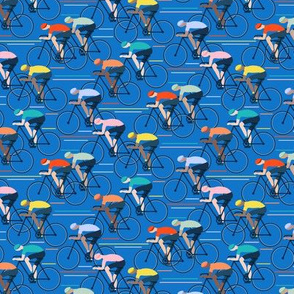 Tour de Force small scale in blue by Pippa Shaw