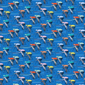 Tour de Force XS scale in blue by Pippa Shaw
