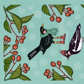 Cosy Winter Birds