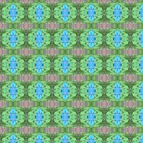 Blue Flower Kaleidoscope