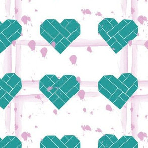 Spilling my heart out in Teal and Rose