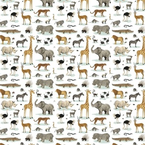 African Animals  {small}