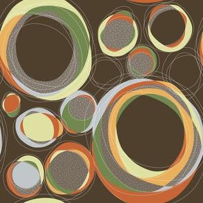 Cut Circles, Toasted Autum