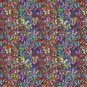 rainbow butterflies brite version