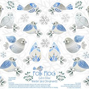 Folk Flock Cut and Sew