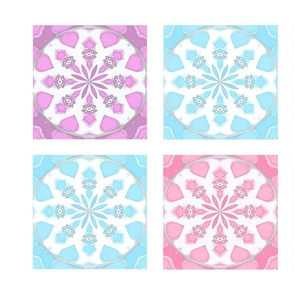 Doll Quilt Easy Pastel Blocks