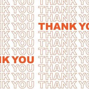Thank You Shopping Bag [Offset]
