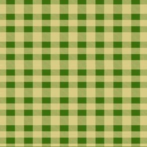 Baltimore Oriels and Monarch Butterfly-Green Plaid