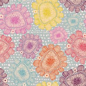 Square Sorbet Flowers