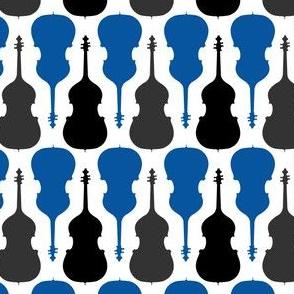 String Bass - Blue, Black, Gray