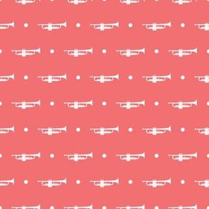 Trumpet Dots - Pink