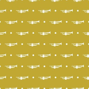 Trumpet Dots - Mustard