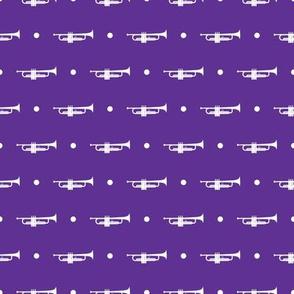 Trumpet Dots - Purple