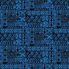 small Native Tapa-blue
