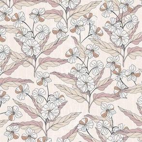 Block print flowers blush-nanditasingh
