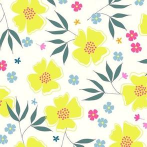Sunshine floral 1